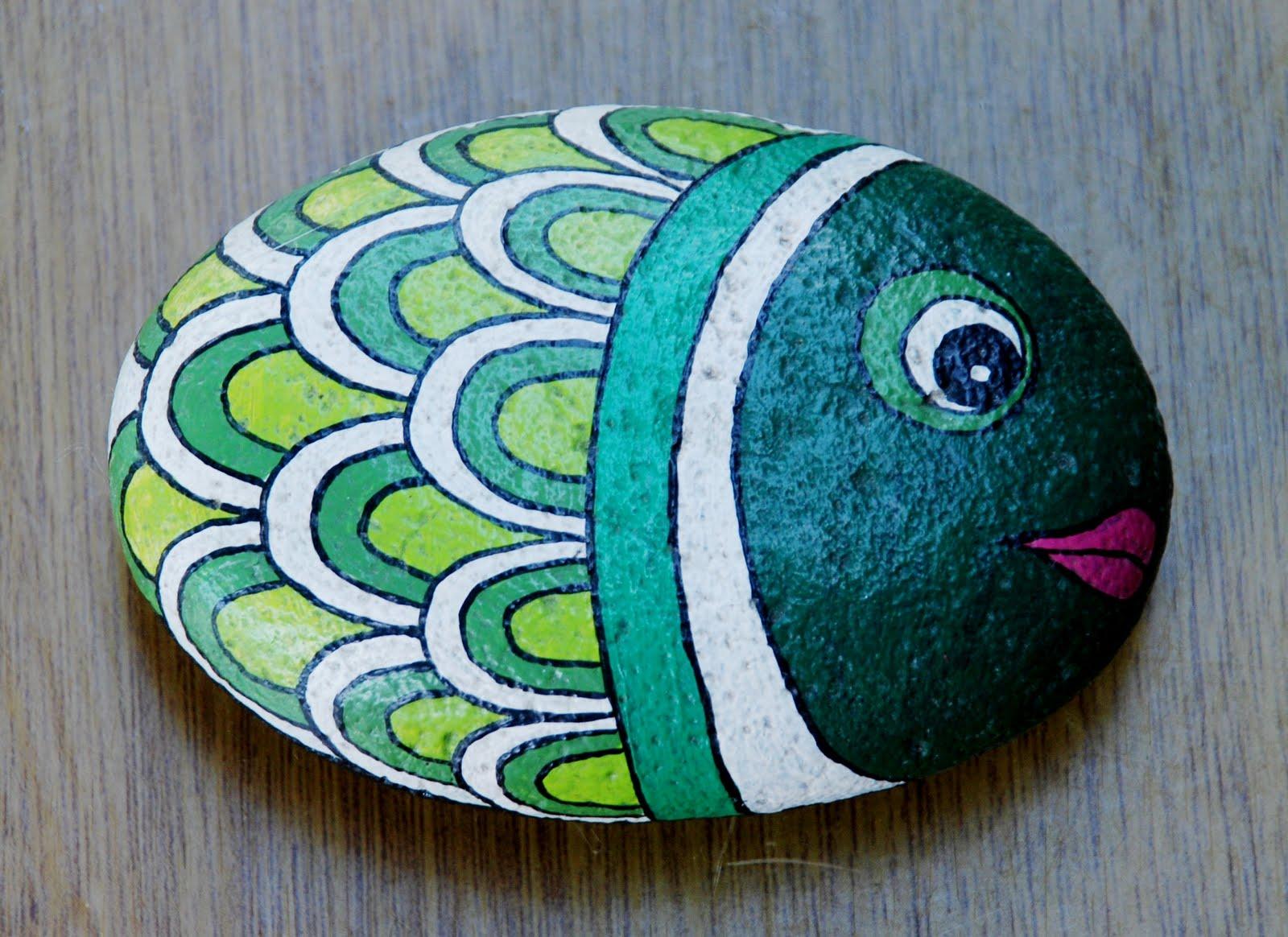 Artesanias yibi piedras pintadas for Como pintar piedras