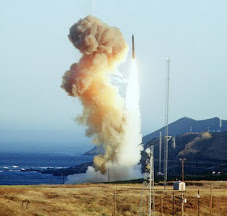 Protest against the Minuteman III high speed solid fuel ICBM, Vandenberg, Sep. 17, 2010