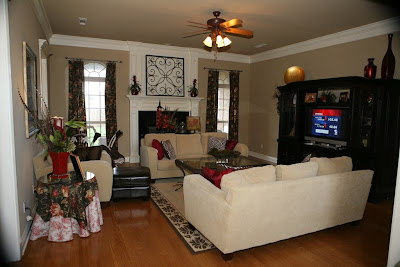 Show us how you live show us where you live living rooms for Living room and family room next to each other