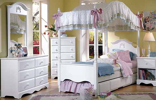 white bed canopy - Furniture - Shopping.com