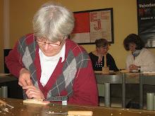 kurs duboreza u muzeju Vojvodine, course wood carving