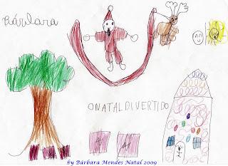 Lindo poema de natal com ilustração