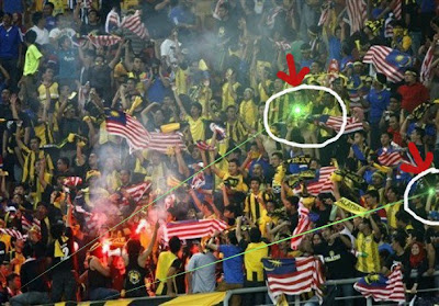 green laser malaysia supporter