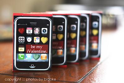 DIY iPhone Valentines | Class Valentines