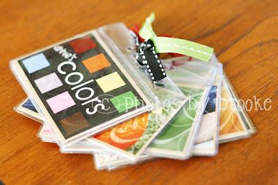 DIY Mini Color Book | Quiet Book