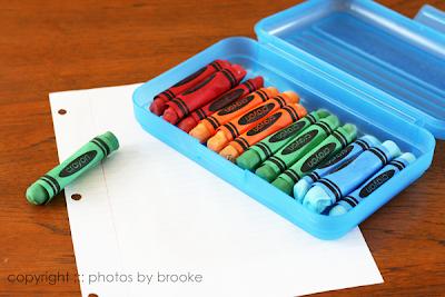 Edible Crayons: A Fun Back-to-School Treat