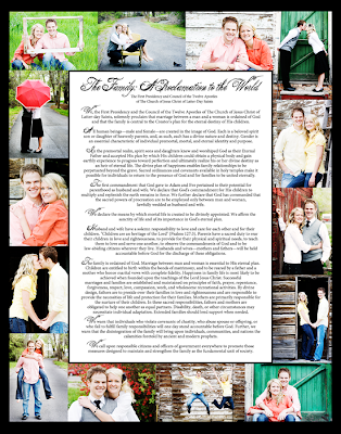 The Family:  A Proclamation to the World Gift Idea