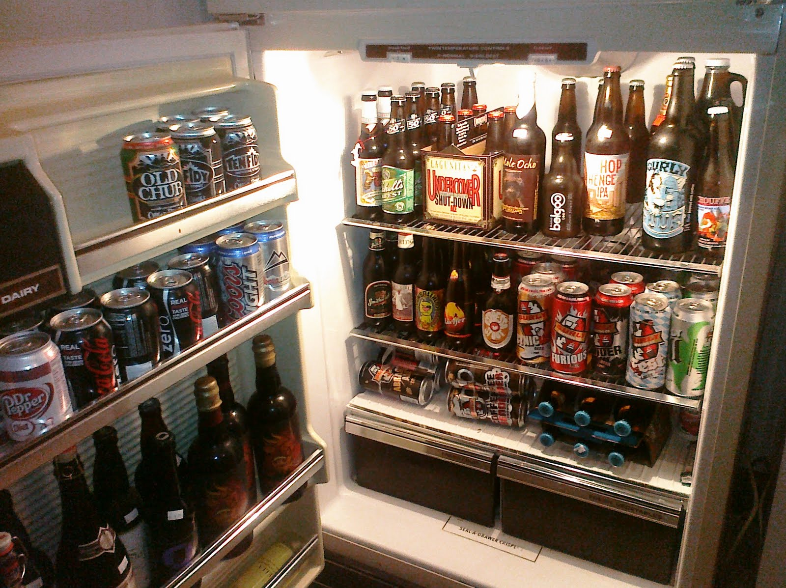 Beer Musings Pdx The Beer Fridge