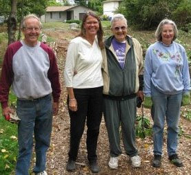 Blueberry Park volunteers