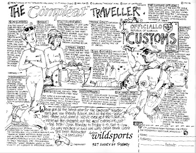 The Compleat Traveller - Wildsports advert from Wild Magazine, Jan/Feb/Mar 1988