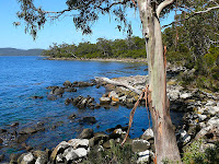The sheltered eastern coast of Labillardiere Peninsula, Bruny Island, Tasmania - 20th Oct 2007