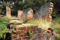 Ruins of Fishers Point Pilot Station - 2nd April 2010