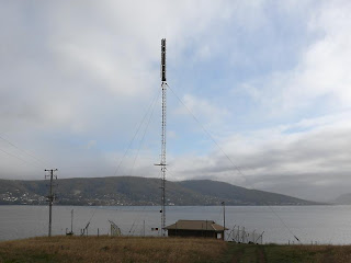 Transmitter, White Rock Point, South Arm, Tasmania - 7th June 2008