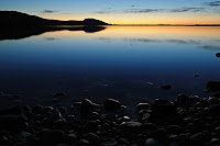 Sunrise across Shoal Bay, Maria Island - 24th September 2009