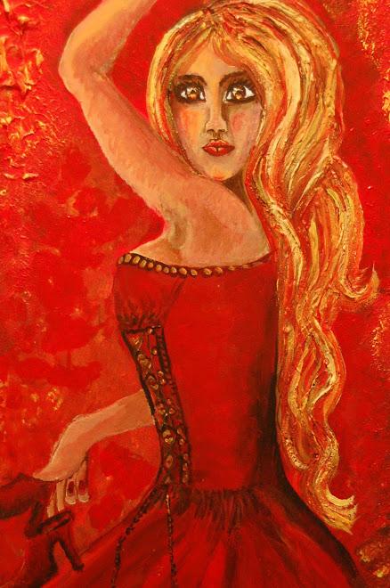 Dans i flammer av Liv Renate Natvig