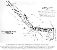 Mapa norte Tamaulipas espacio Zona Libre
