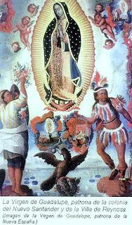 Virgen de Guadalupe patrona de la Nueva Espana