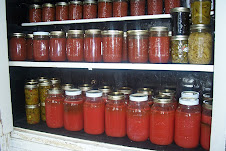Canning from the garden