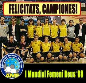 Primer mundial Futsal para damas