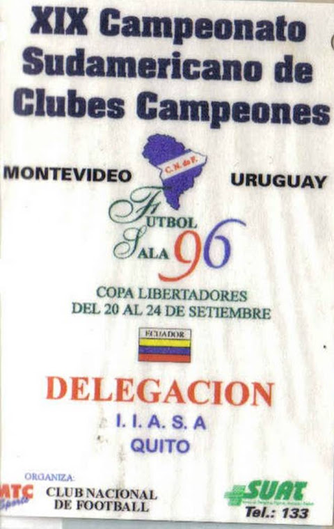 Sudamericano de clubs 1996