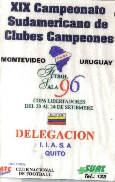 Sudamericano de clubs 1996