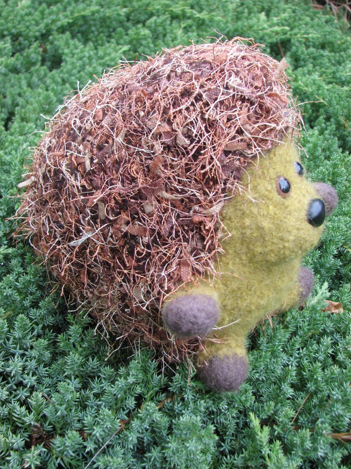 Huggable Hedgehog Knitting Pattern : Yarns With A Twist: Shop Updates....