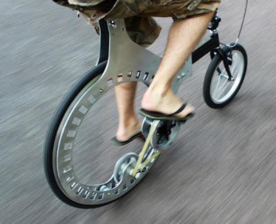 sepeda unik, sepeda tanpa jeruji