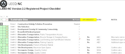 Real Life LEED: 7 Reasons the New PDF LEED Checklists Stink