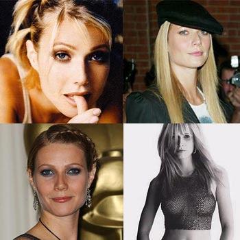 Diferentes rostros de Gwyneth Paltrow