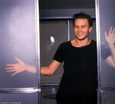 Heath Ledger muy joven