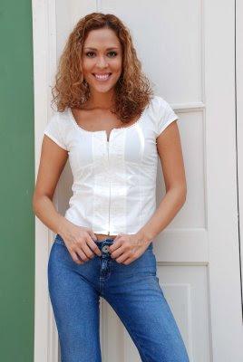 Adriana Quevedo cuando era mas delgada