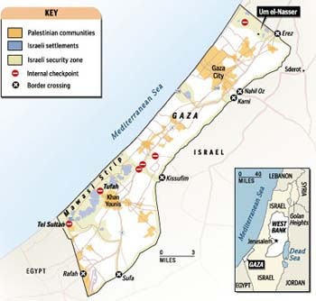 DESCONEXION DE GAZA