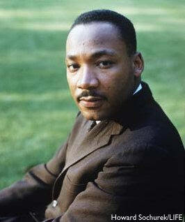 Martin Luther King estadounidense