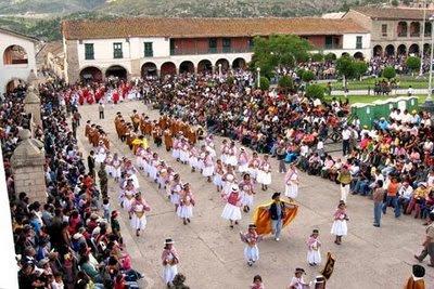 Vista Panorámica del Carnaval de Ayacucho