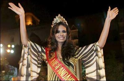 Laura Elena Zuñiga Miss Sinaloa 2008