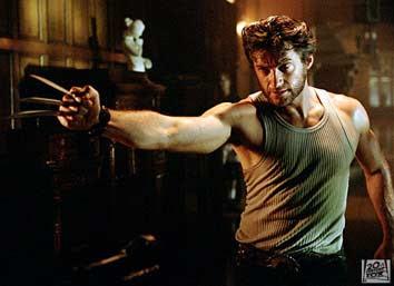 """Hugh Jackman como Logan/Wolverine de """"X-Men"""""""