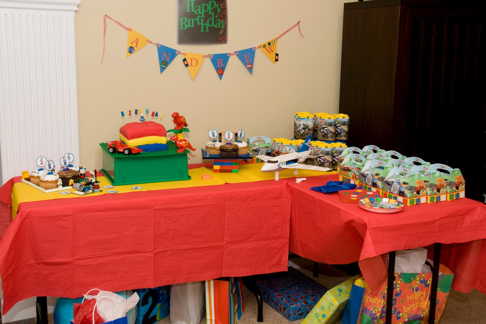Lego birthday party the polkadot chair