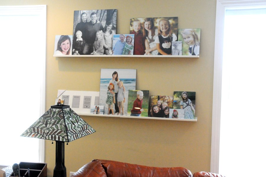 Ideas For Photos On Walls. +picture+frames+on+walls
