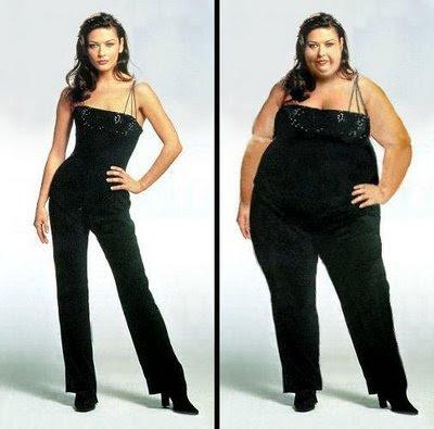 Dicas de Saúde: dietas, exercícios, etc - Página 4 Magra+e+gorda