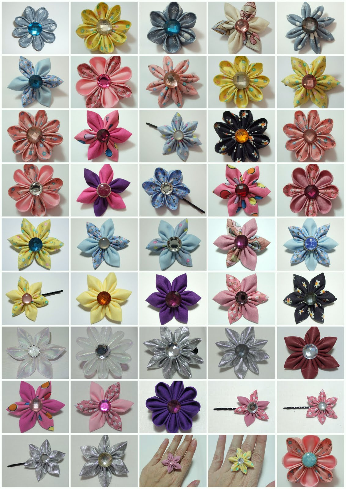 New Items  Kanzashi Flower Accessories