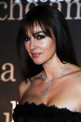 Monica Bellucci Diamond Lariat Necklace