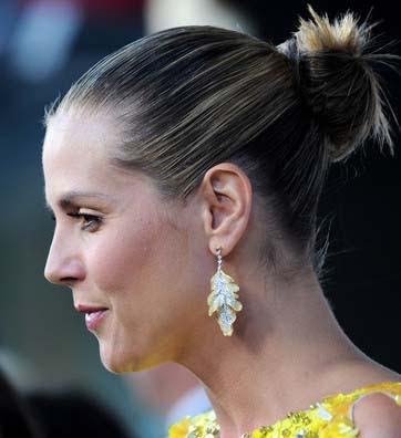 Heidi Klum Dangle Decorative Earrings