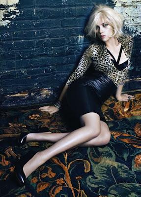 Scarlett Johansson Silver Bracelet