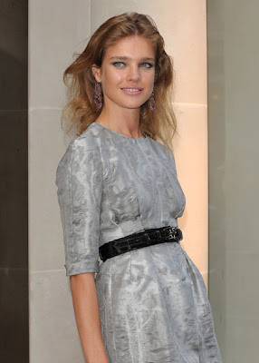 Natalia Vodianova Dangling Gemstone Earrings