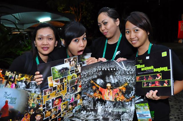 Internship & Volunteers Program at Music Festivals in Sarawak, Borneo