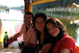 Paseando por Xochimilco