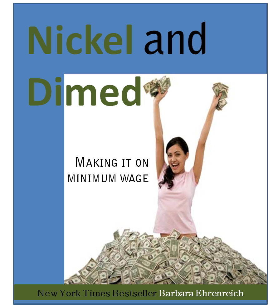 nickel and dimed selling in minnesota Nickel and dimed is a book written by barbara ehrenreich ehrenreich traveled across the country, undercover, from florida to maine, and then to minnesota.