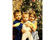 Kids with our tree