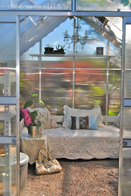 My greenhouse-in sommer.