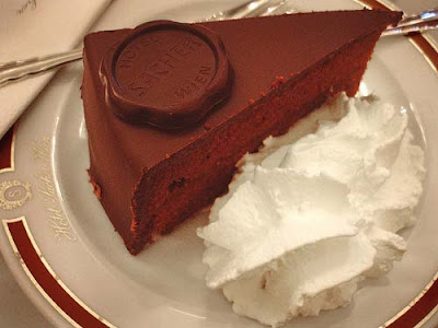 Sachertorte, Vienna and Salzburg a Torte-Cake-Chocolate Gourmet Recipe ...